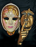 woman masquerade masks
